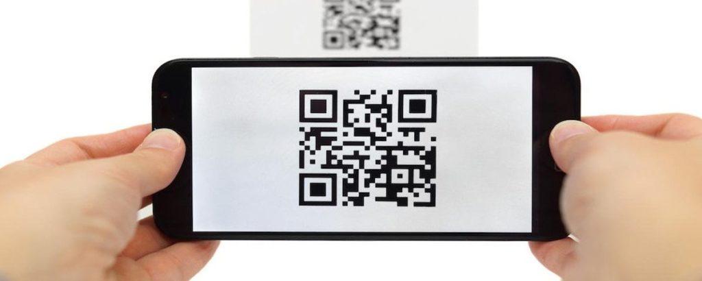 guia de impressão em qr code